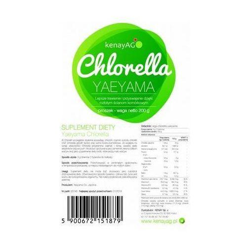 Chlorella proszek 200g marki Kenay ag