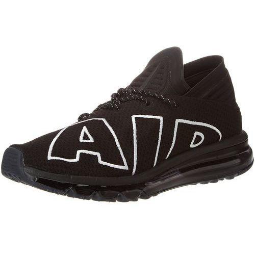 Nike NIKE AIR Max Flair, męski Sneaker w kolorze czarnym/biała/czarna 45 EU - - 43 EU, kolor biały