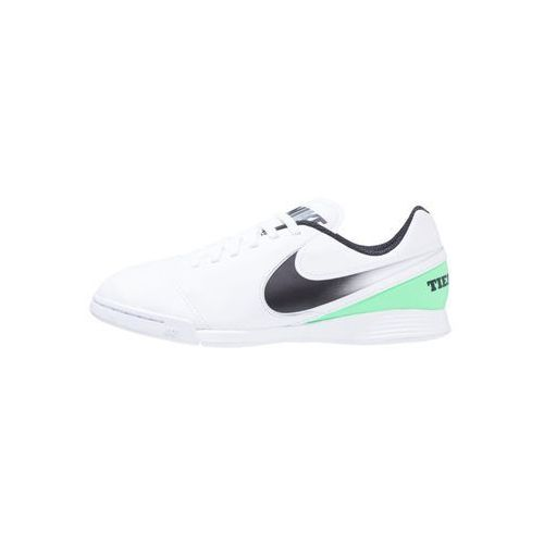 Nike Performance TIEMPO LEGEND VI IC Halówki white/black/electro green, kolor biały