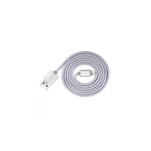 Kabel DEVIA certyfikowany MFI 1,2m do iPhone Lightning silver - produkt z kategorii- Kable transmisyjne