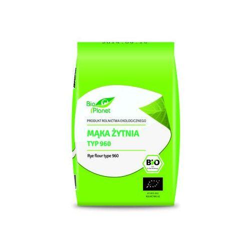 Bio planet : mąka żytnia typ 960 bio - 1 kg