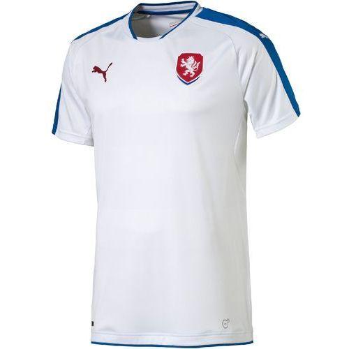Puma koszulka czech republic away replica white-puma red xxl