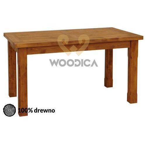 Stół hacienda 01 [nogi proste lub toczone] 180x76x90 marki Woodica