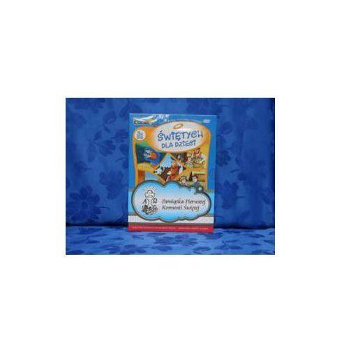 Praca zbiorowa O świętych dla dzieci album (5 x dvd ). zestaw komunijny