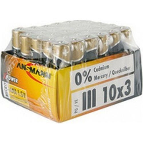 Ansmann Bateria Micro X-Power, 3xAAA, 1.5V (5015721) Darmowy odbiór w 21 miastach!