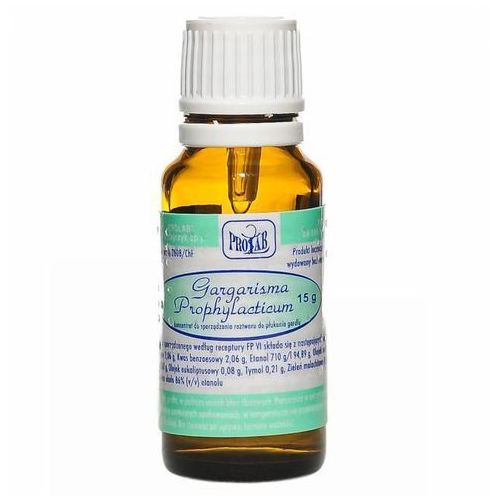 Gargarisma prophylacticum, płyn, 15 g - produkt farmaceutyczny