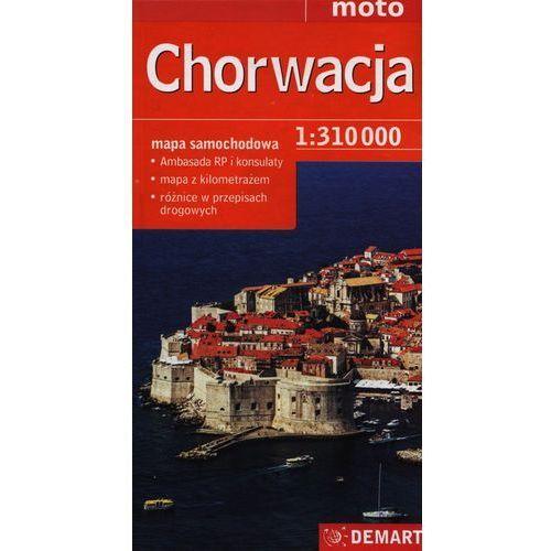 Chorwacja Mapa Samochodowa 1:310 000 (2012)