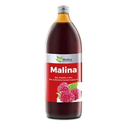 Ekomedica Malina sok 500ml - data ważności 15-11-2019