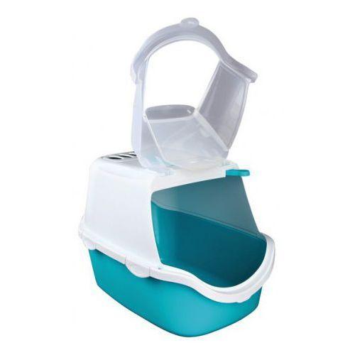 Kuweta zamykana dla kota Vico Easy Clean Kolor:Niebieski / biały - oferta [05712e7cb74133a2]