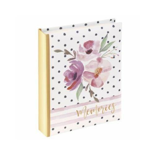 Album HAMA Flower Memories 10x15/40 Złoto-różowy