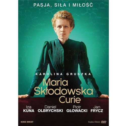Add media Maria skłodowska-curie dvd + książka (płyta dvd)