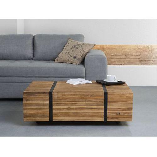 Stolik kawowy - ława - kawowa - stół - drewniany - GANDER - produkt z kategorii- Stoliki i ławy