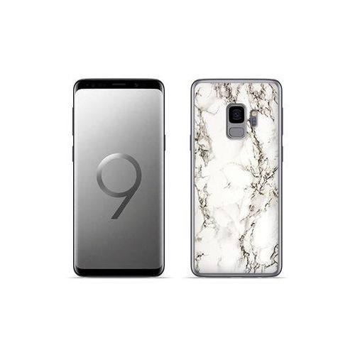 etuo Fantastic Case - Samsung Galaxy S9 Plus - etui na telefon Fantastic Case - biały marmur, kolor biały
