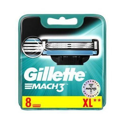 Procter & gamble Gillette 8szt mach3 wkłady do maszynki do golenia