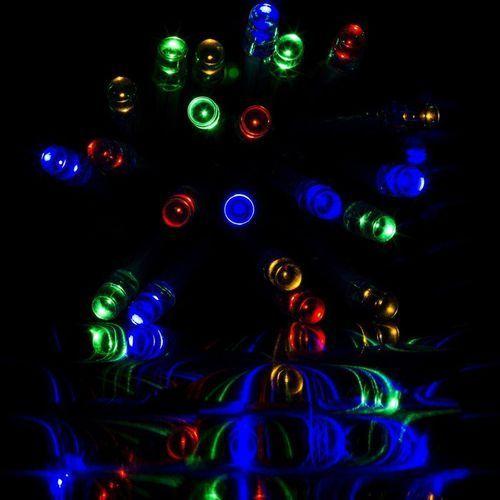LAMPKI CHOINKOWE 100 LED /15m KOLOROWYCH NA ŚWIĘTA - 100 LED / 15 METRÓW ze sklepu Makstor