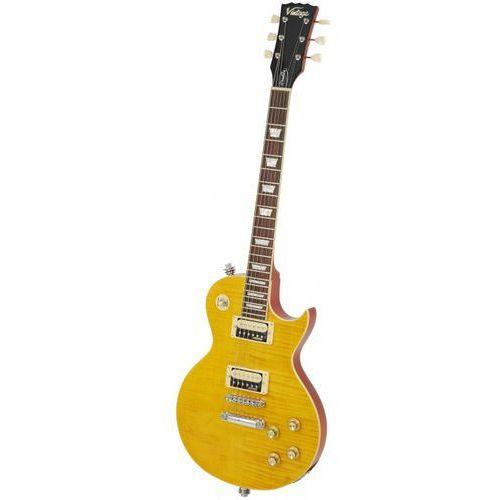 Vintage v100afd paradise flamed maple gitara elektryczna