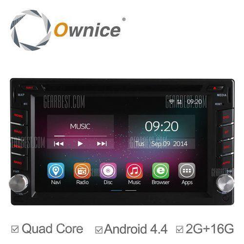 Ownice C200 - OL - 6666B Android 4.4.2 6.2 inch Car GPS DVD Multi-media Player - produkt z kategorii- Pozostały sprzęt samochodowy audio/video