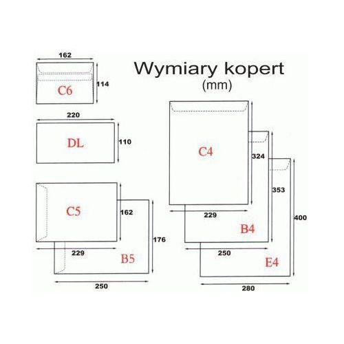 Koperta C4/25szt. HK biała (5905379008181)
