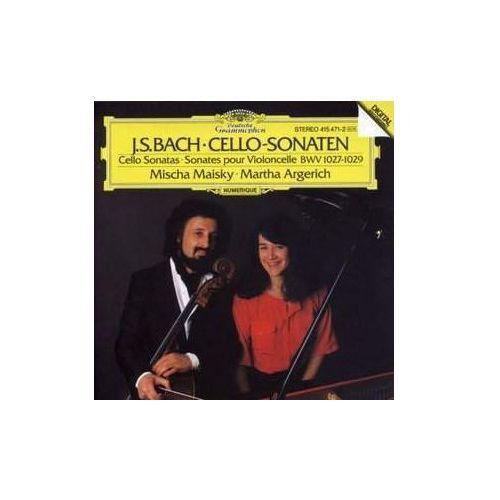 Universal music / deutsche grammophon Bach, j.s.: sonatas for cello & piano - mischa maisky, martha argerich, johann sebastian bach (płyta cd) (0028941547125)