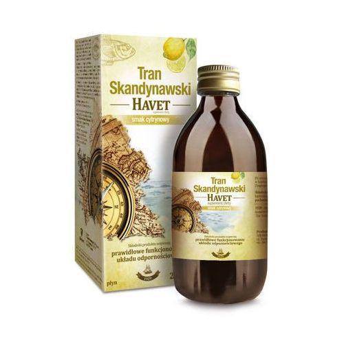 Płyn TRAN SKANDYNAWSKI HAVET Smak cytrynowy płyn 250ml