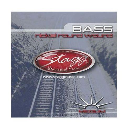 ba4500 struny do gitary basowej 45-100 marki Stagg