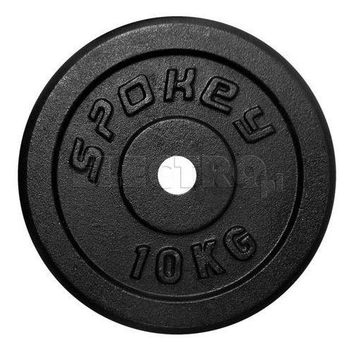 Obciążenie żeliwne SPOKEY Sinis 10 kg 84423 + Odbiór w 650 punktach Stacji z paczką! (gryf, sztanga) od ELECTRO.pl
