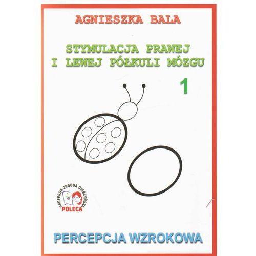 Stymulacja prawej i lewej półkuli mózgu Percepcja wzrokowa 1 (40 str.)