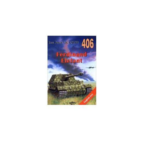 Ferdinand Elefant. Tank Power vol. CXLVII 406, oprawa broszurowa