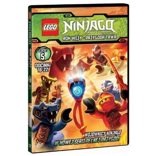 Lego Ninjago. Rok węży. Przygoda trwa. Część 5. Odcinki 18-22 (DVD) (7321997610076)