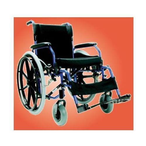Wózek inwalidzki, aluminiowy soma sm-802 od producenta Antar