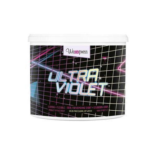 Waxxxpress - Ultra Violet - Wosk do depilacji bez użycia pasków - 400 g - oferta [0585e10631e21524]