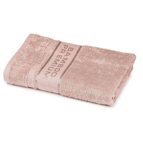 ręcznik kąpielowy bamboo premium różowy, 70 x 140 cm, 70 x 140 cm marki 4home