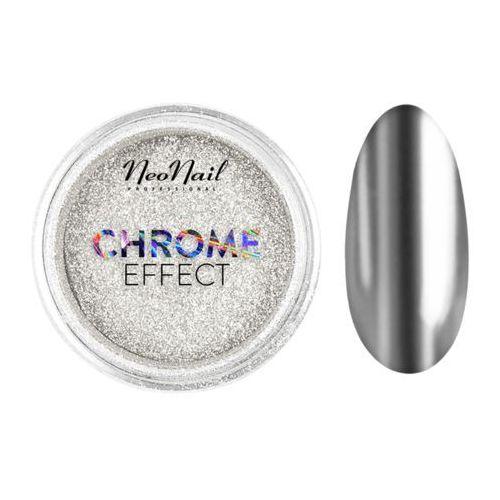 Neonail Pyłek chrome effect – silver