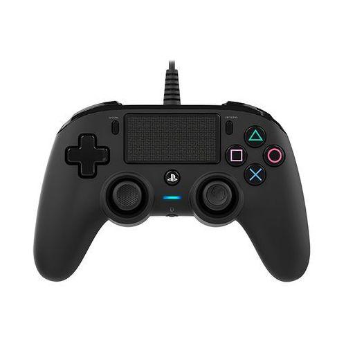 Kontroler nacon compact controller czarny do ps4 marki Big ben