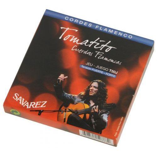 sat50j flamenco tomatito struny do gitary klasycznej marki Savarez