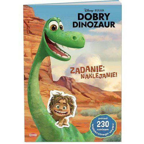 Dobry Dinozaur. Zadanie naklejanie LAS-43 + zakładka do książki GRATIS (9788325321819)