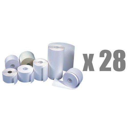 Rolki papierowe do kas termiczne , 28 mm x 25 m, opakowanie 28 x zgrzewka 10 rolek - autoryzowana dystrybucja - szybka dostawa - tel.(34)366-72-72 - sklep@solokolos.pl marki Emerson