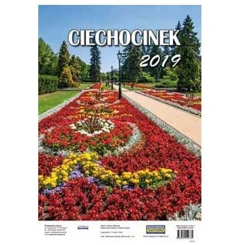 Literat Kalendarze ścienny 2019 ciechocinek (9788381142335)