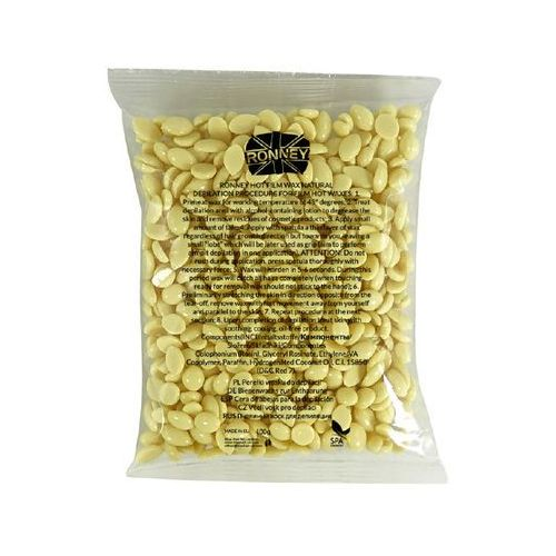 RONNEY FILMWAX SACK NATURAL 100 G - Wosk w granulkach (perełki) - naturalny 100 g