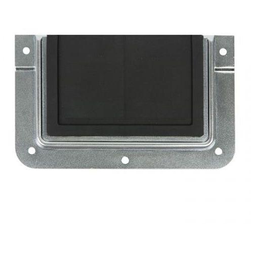 hardware 87972 - przepust kablowy w miseczce montażowej w kształcie litery u marki Adam hall