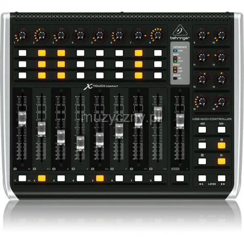 Behringer X-Touch Compact kontroler DAW, 8FBD-578DA