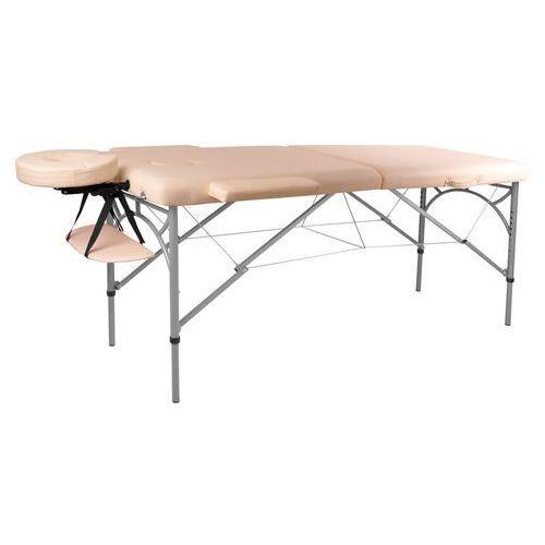 Insportline Profesjonalny stół do masażu tamati, kremowo-biały