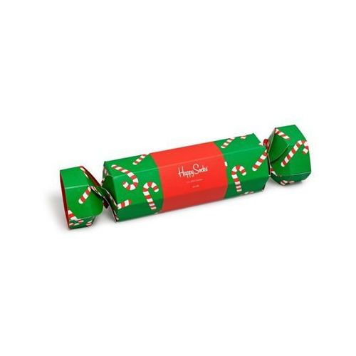 Happy socks Skarpetki giftbox big dot cracker (2-pary) sxpol02-7300 - zestaw świąteczny - multicolor (7333102243192)