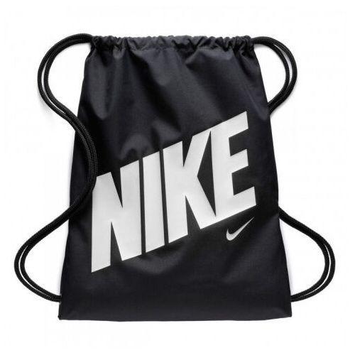Nike Performance GRAPHIC GYMSACK Torba sportowa black/black/hyper crimson (0883419421754)