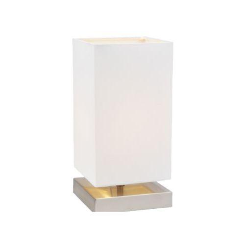 Stojąca LAMPA stołowa NANGA 7070102 Spotlight abażurowa LAMPKA nocna na dotyk biała, 7070102