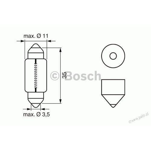 Żarówka c5w 12v 1 987 302 211 !odbiór osobisty kraków! lub wysyłka marki Bosch