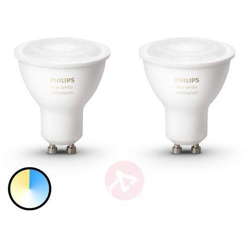 Philips Reflektor hue white ambiance gu10 2 x 5,5w