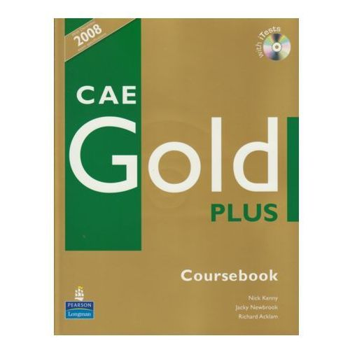 CAE Gold Plus Coursebook z płytą CD (9781405876803)