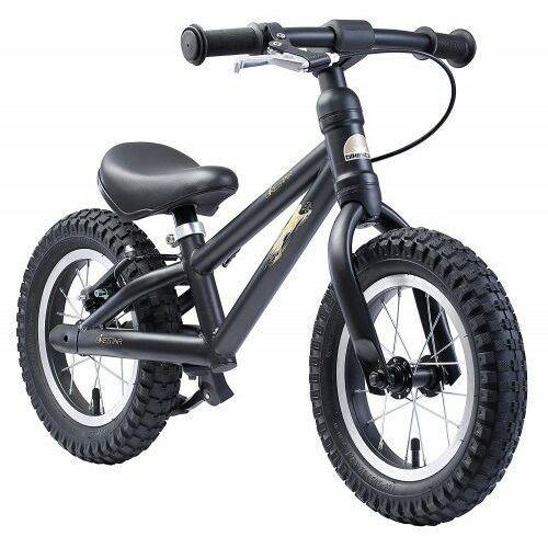 """Bikestar Rowerek biegowy mtb 12"""" bike star germany czarny"""