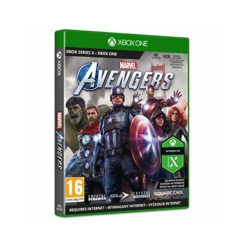 Crystal dynamics Gra xbox one marvels avengers (5021290085176)